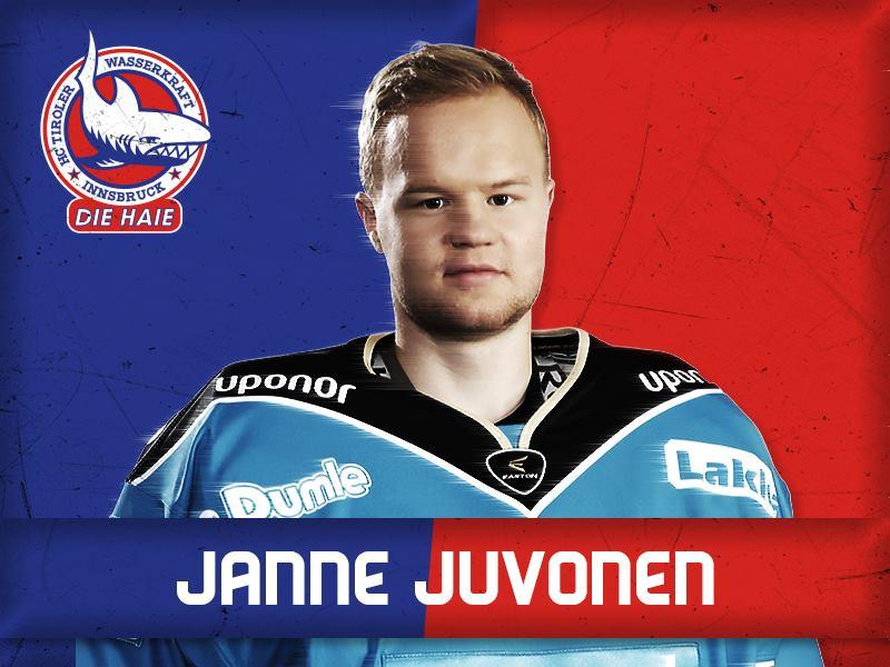 Finnischer Try-out Spieler für die Haie