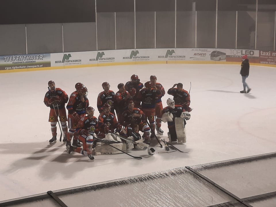 Crocos mit Overtime Erfolg in Hohenems